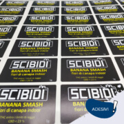 Etichette stampate plotter bologna - Scibidi - Linea Grafic srl